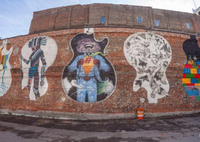 Downtown Nashville Mural 22