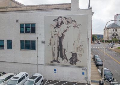 Downtown Nashville Mural 42