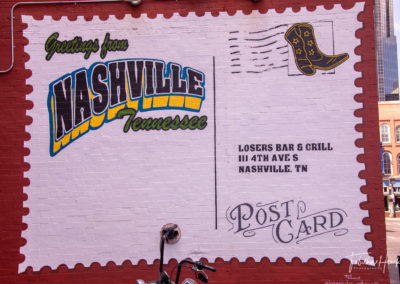 Downtown Nashville Mural 45