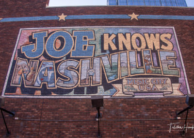Downtown Nashville Mural 47