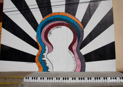Downtown Nashville Mural 48