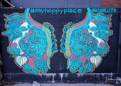 Downtown Nashville Mural 55