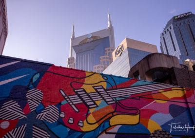 Downtown Nashville Mural 66