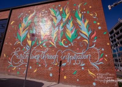 Downtown Nashville Mural 68
