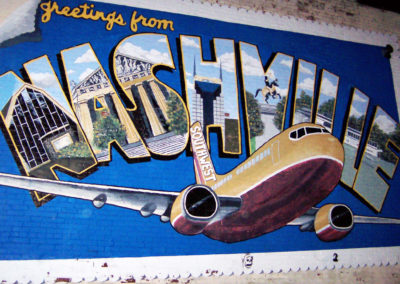 Downtown Nashville Mural 69