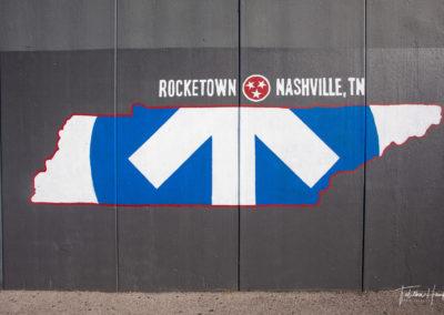 Downtown Nashville Mural 7