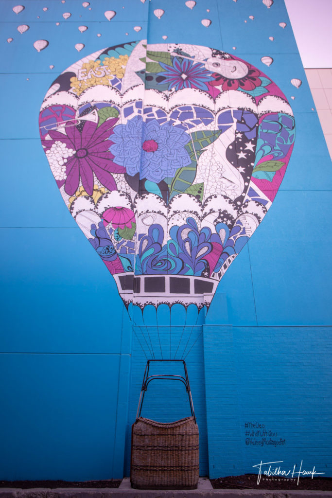 What Lifts You – Air Balloon Mural