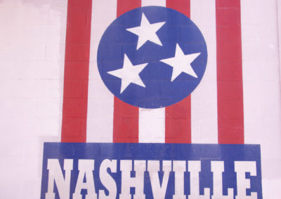 I Believe In Nashville Mural – East Nashville