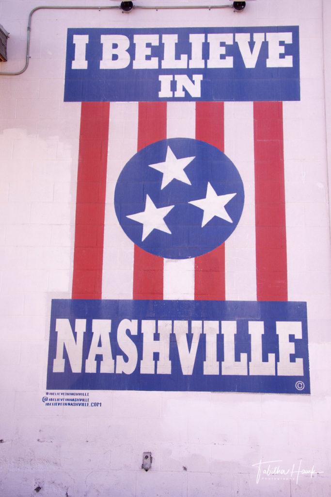 I Believe In Nashville Mural – East Nashville