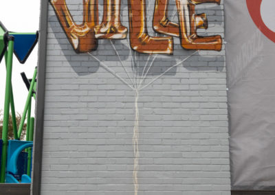 Nashville Mural - BoomBozz Craft Pizza
