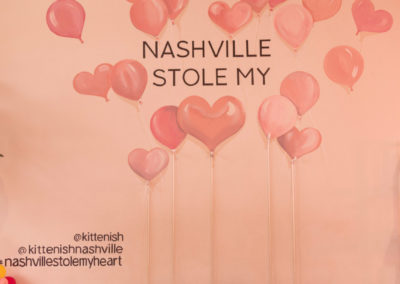 Nashville Stole My Heart Mural - Kittenish