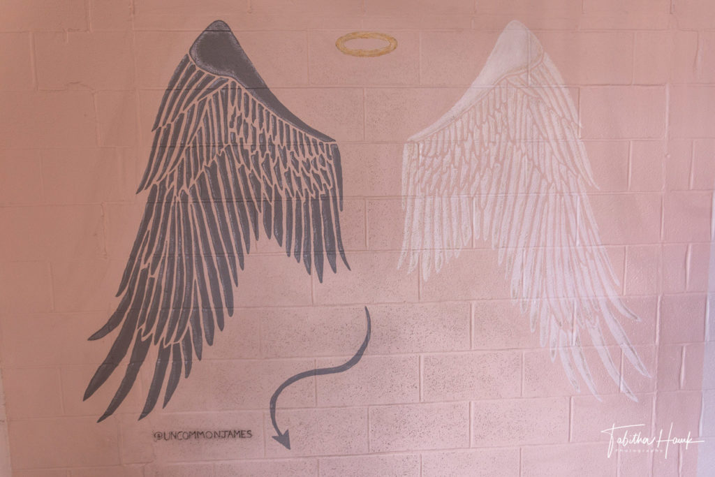 Uncommon James Mural